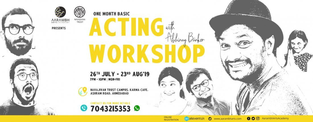 One month Acting Workshop with Abhinay Banker