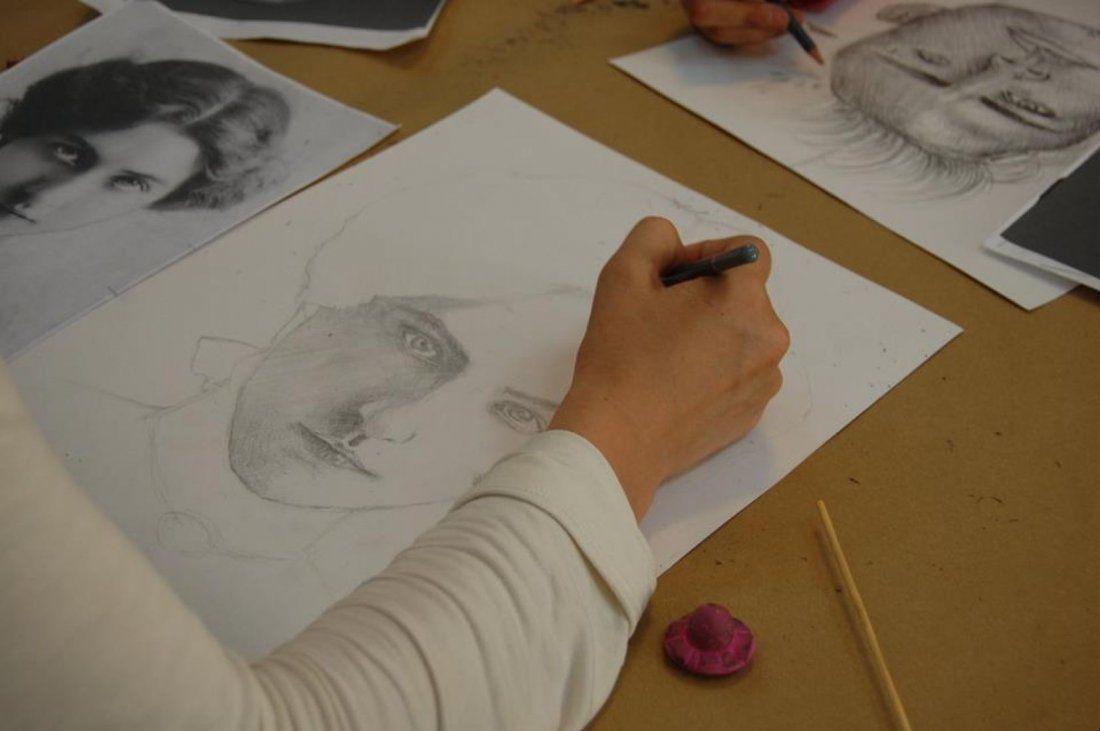 Curs desen  portret