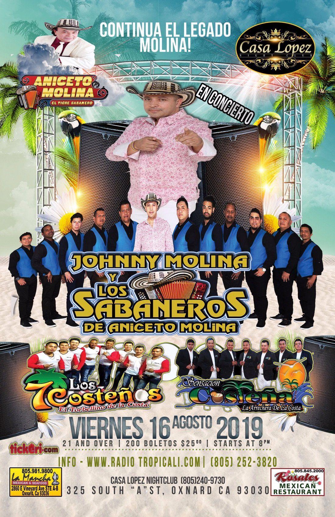 Johnny Molina y Los Sabaneros de Anicieto Molina