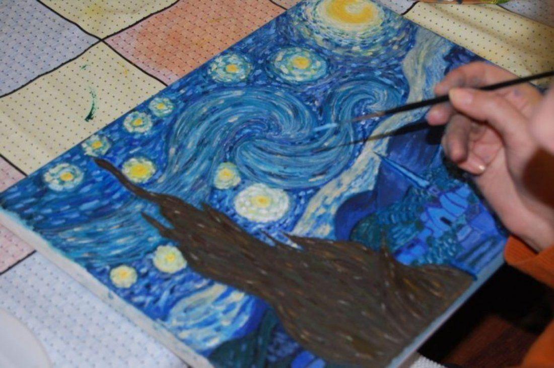 Curs de pictura in acril