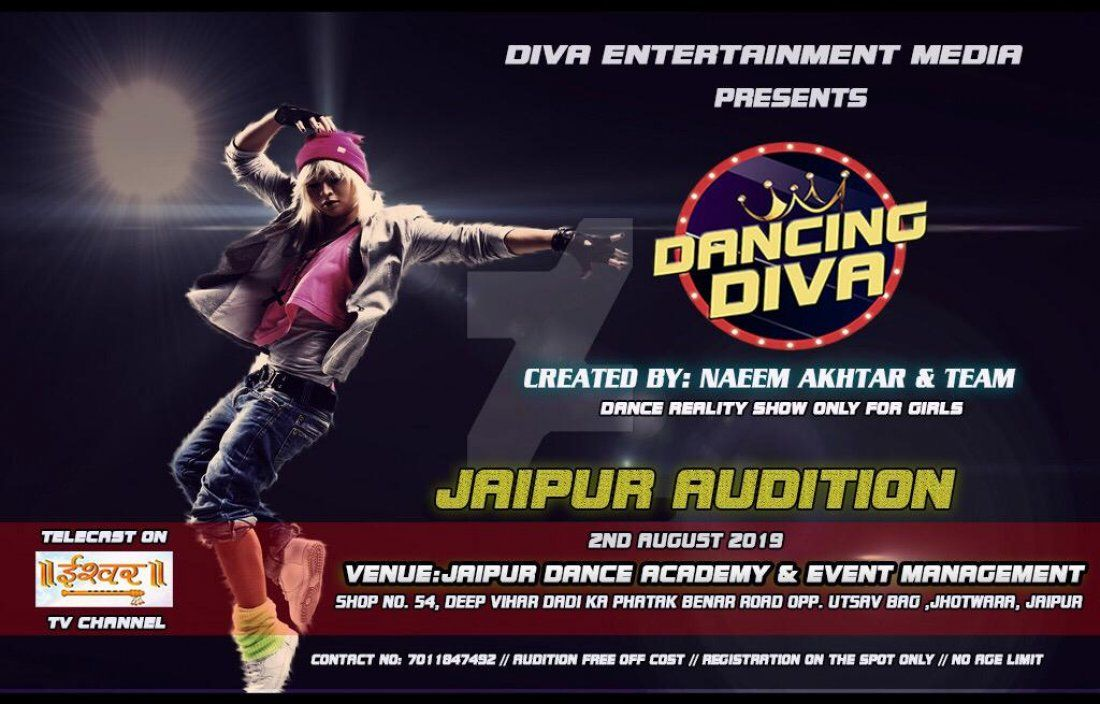 DANCING DIVA Jaipur Audition