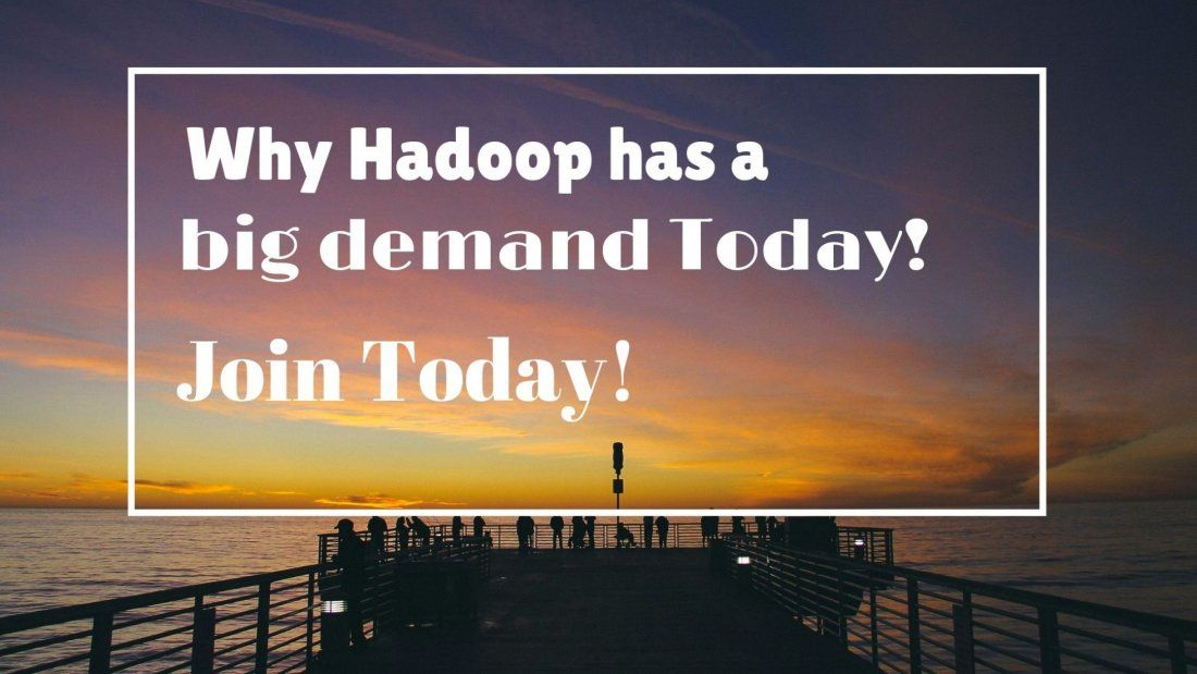 Why Hadoop is trending with huge demand