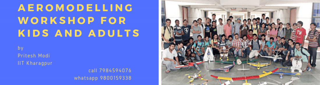 Aeromodelling workshops for Kids and Adults