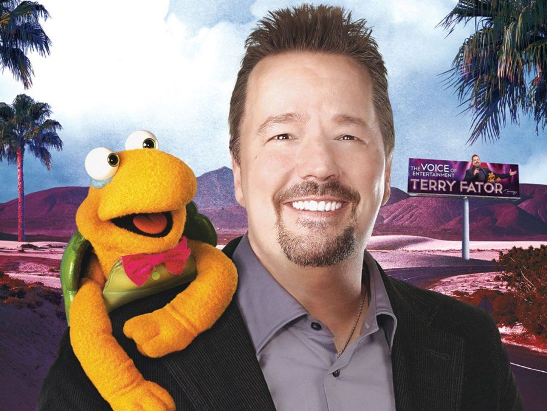 Terry Fator at Terry Fator Theatre - Mirage, Las Vegas, NV