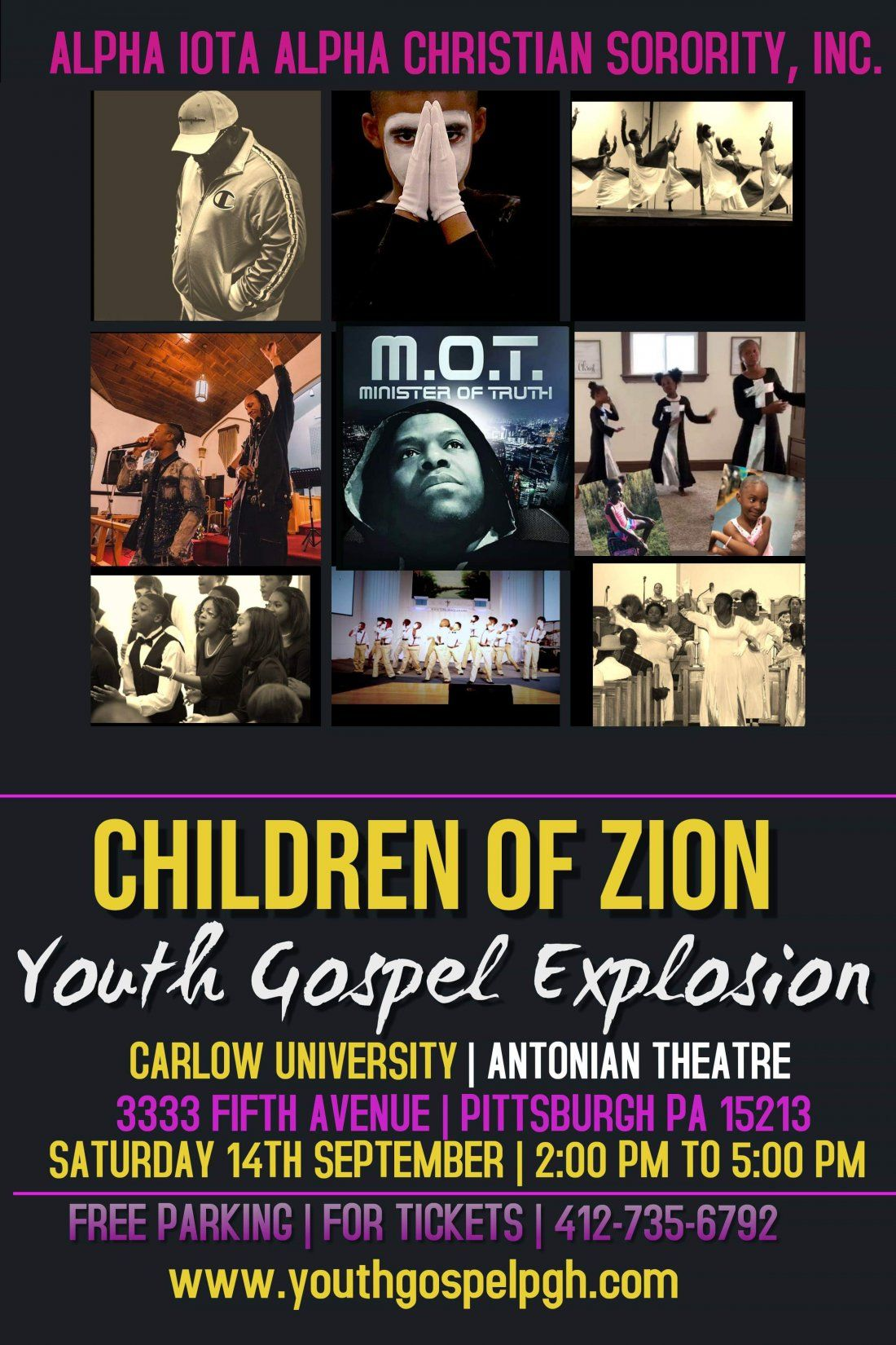 Children of Zion  Youth Gospel Explosion
