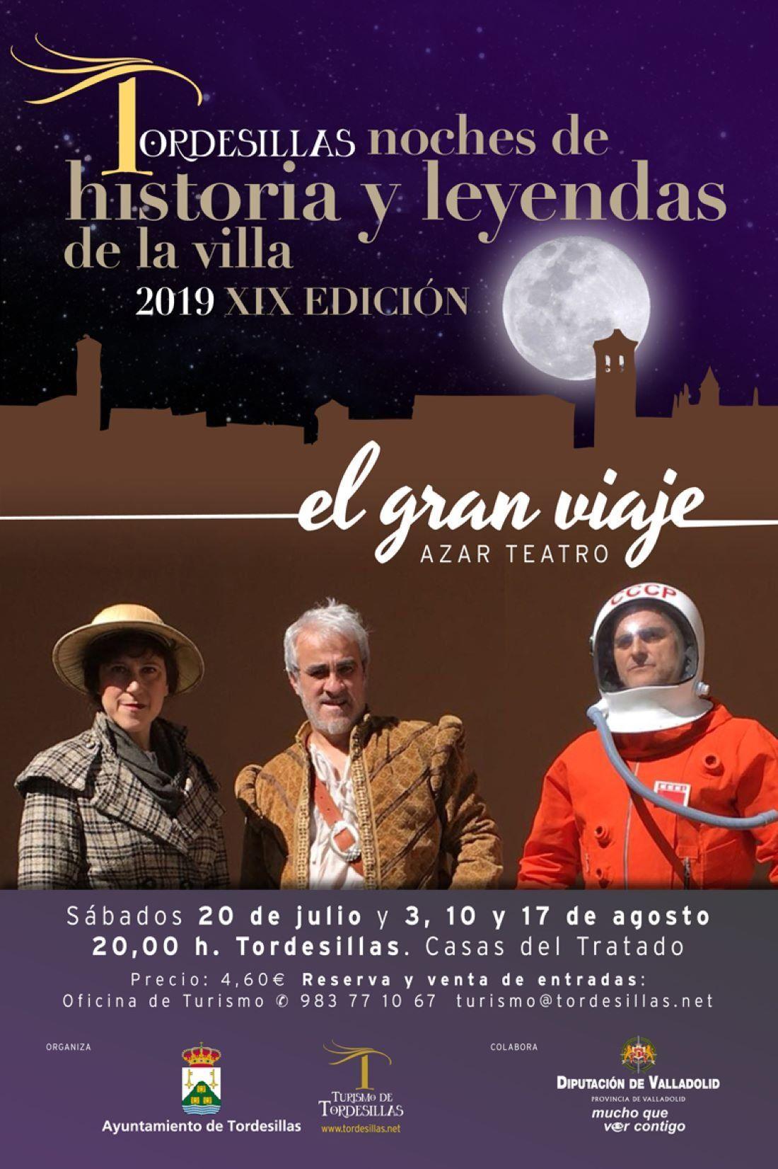 NOCHES DE HISTORIA Y LEYENDAS DE LA VILLA \