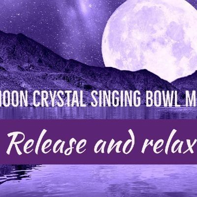 Full Moon Sound Bath in our Himalayn Salt Room