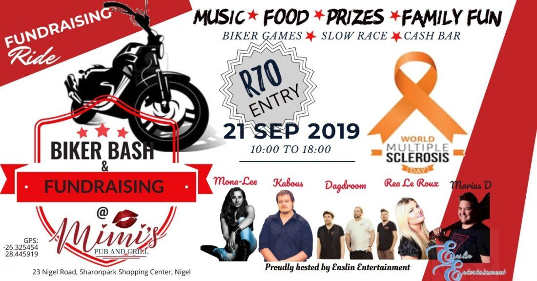 Fundraising Biker Bash