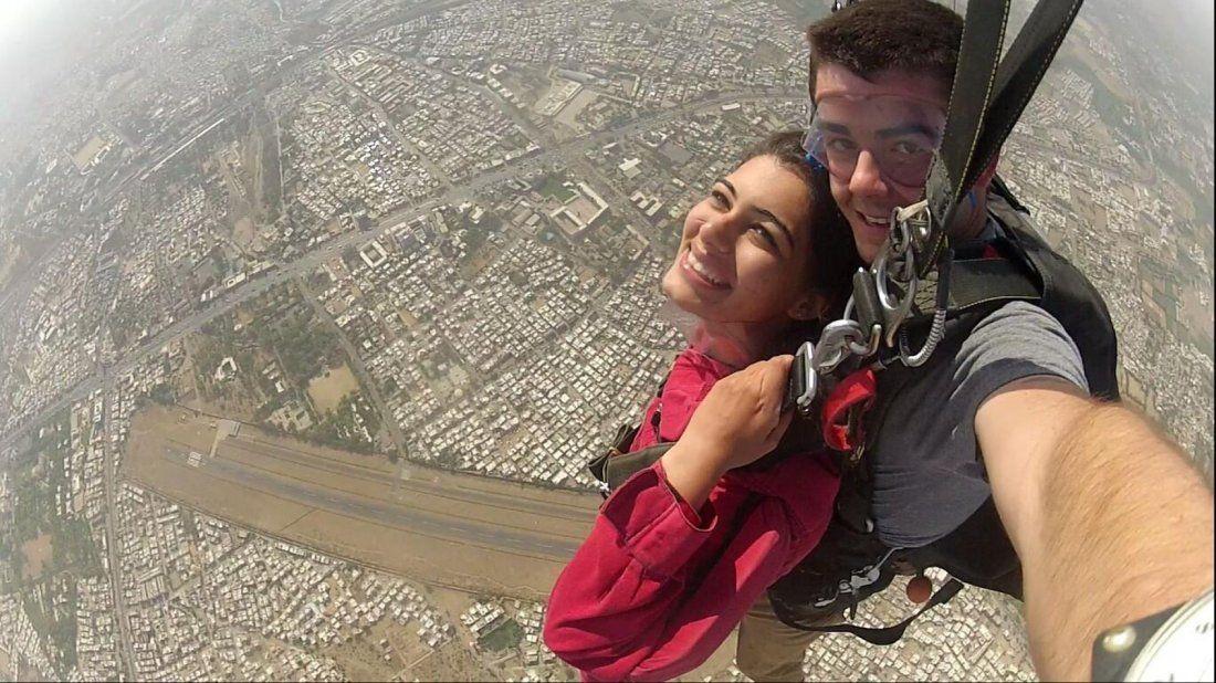Skydiving in India - Tandem Skydiving
