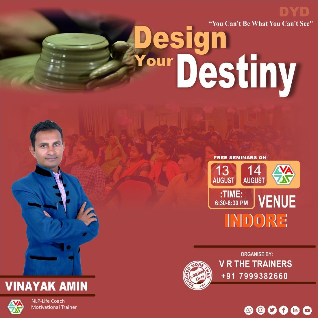 Free Motivational seminar-Design Your Destiny