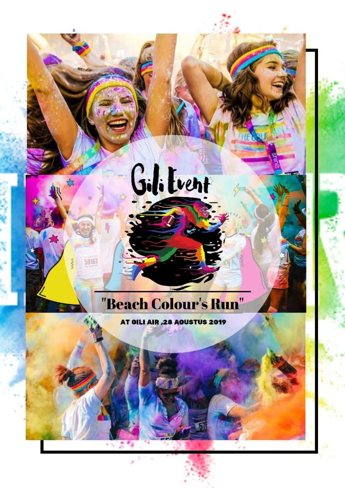 Gili Beach Colour Run