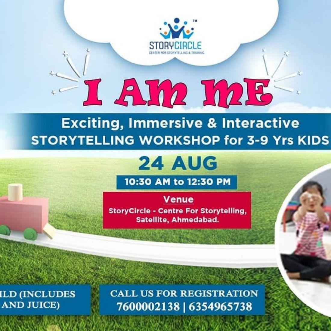 I AM ME- Storytelling workshop for 3 to 9 yrs children