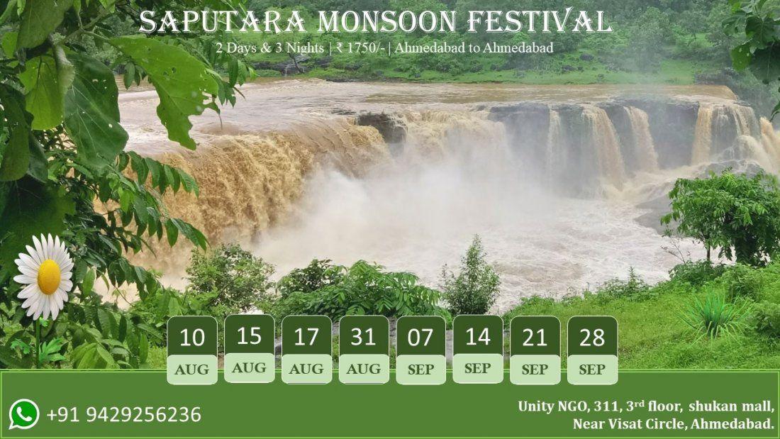 Saputara moonsoon festival