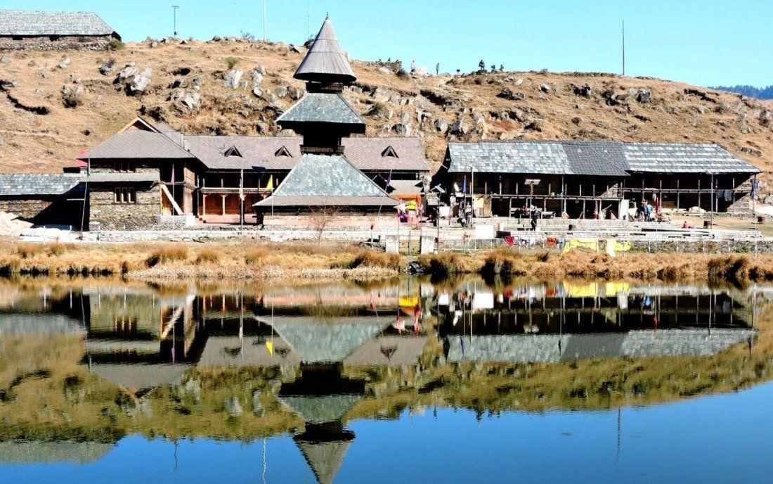 Prashar Lake From Delhi