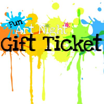 Paint Night Gift Ticket