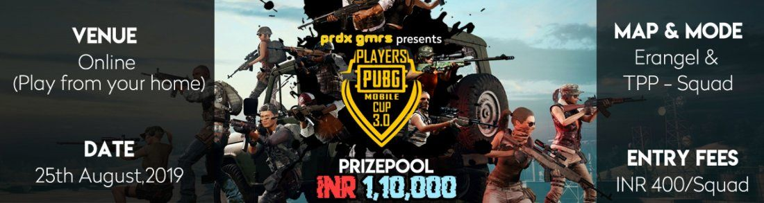 Players PUBG Mobile Cup 3.0