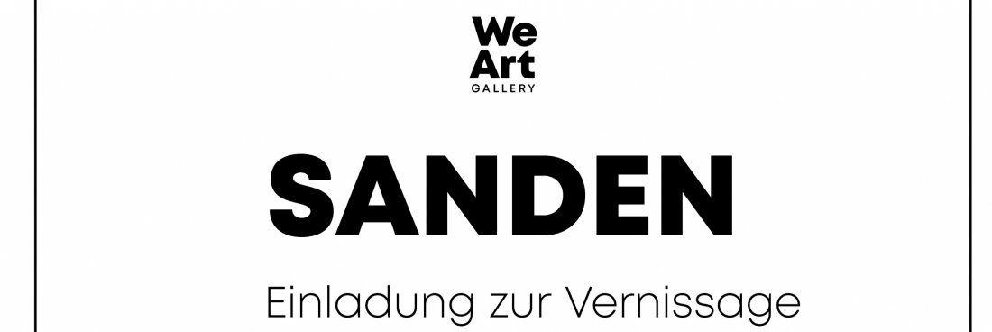 WeArt Popup Gallery Ausstellung SANDEN by Adrian Scheidegger
