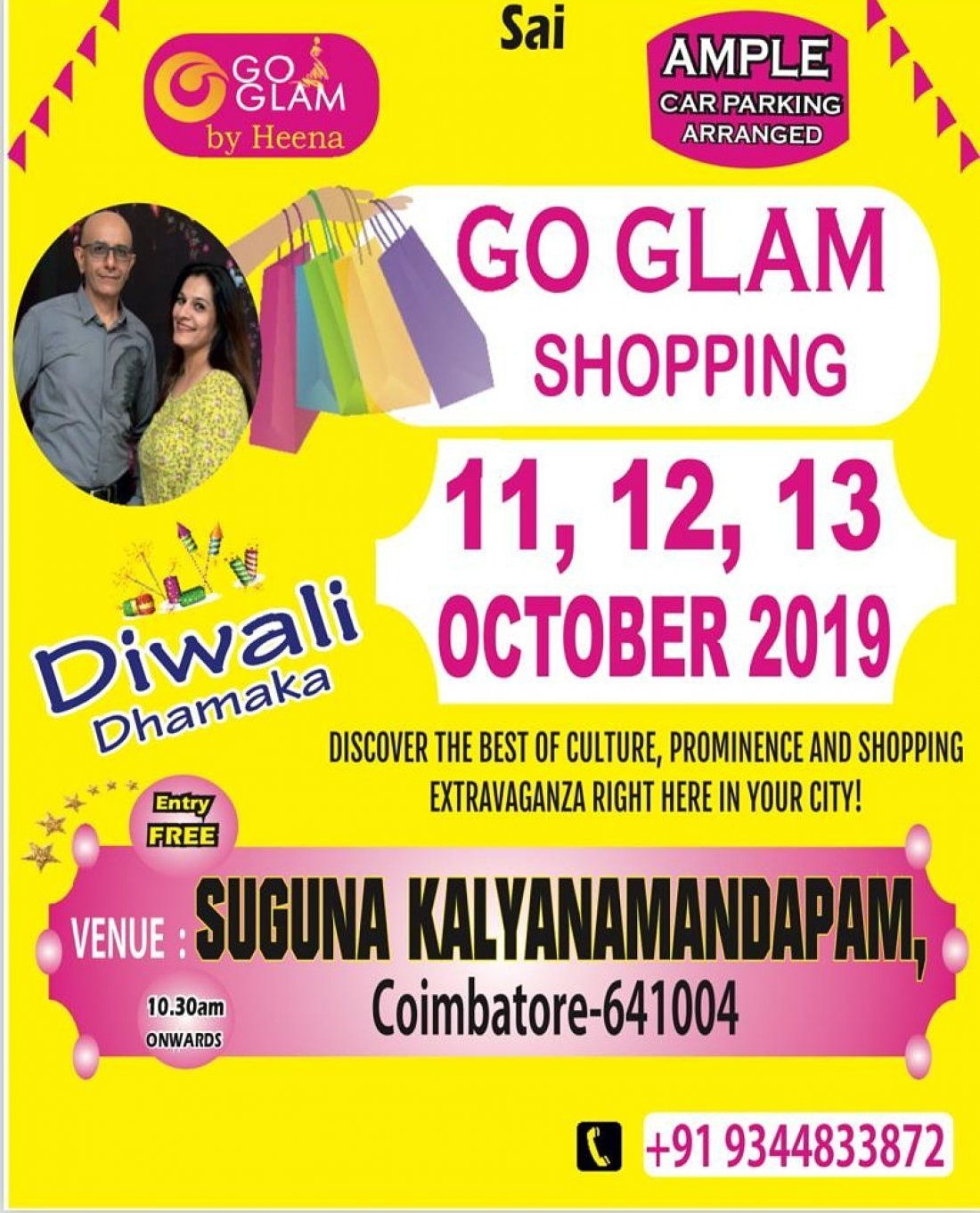 Go glam shopping exhibition