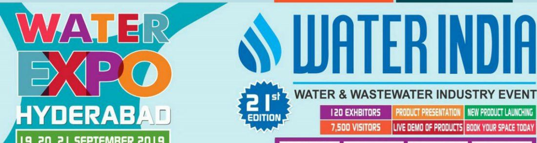 Water Indias Water Expo 2019