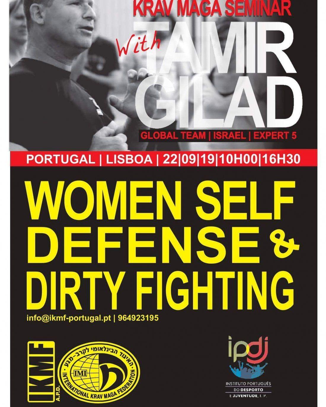 Defesa pessoal para mulheres e Homens com alguns bons igredientes