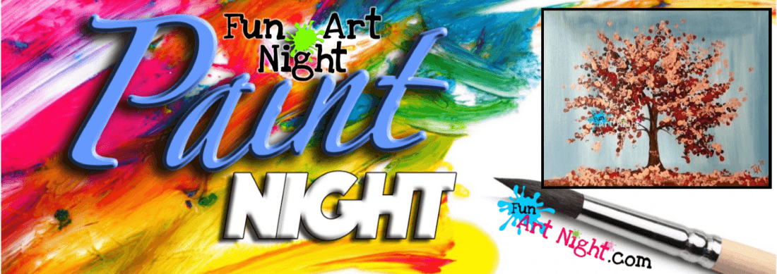 Ladies Paint Night Fall For Me in Harrisonburg