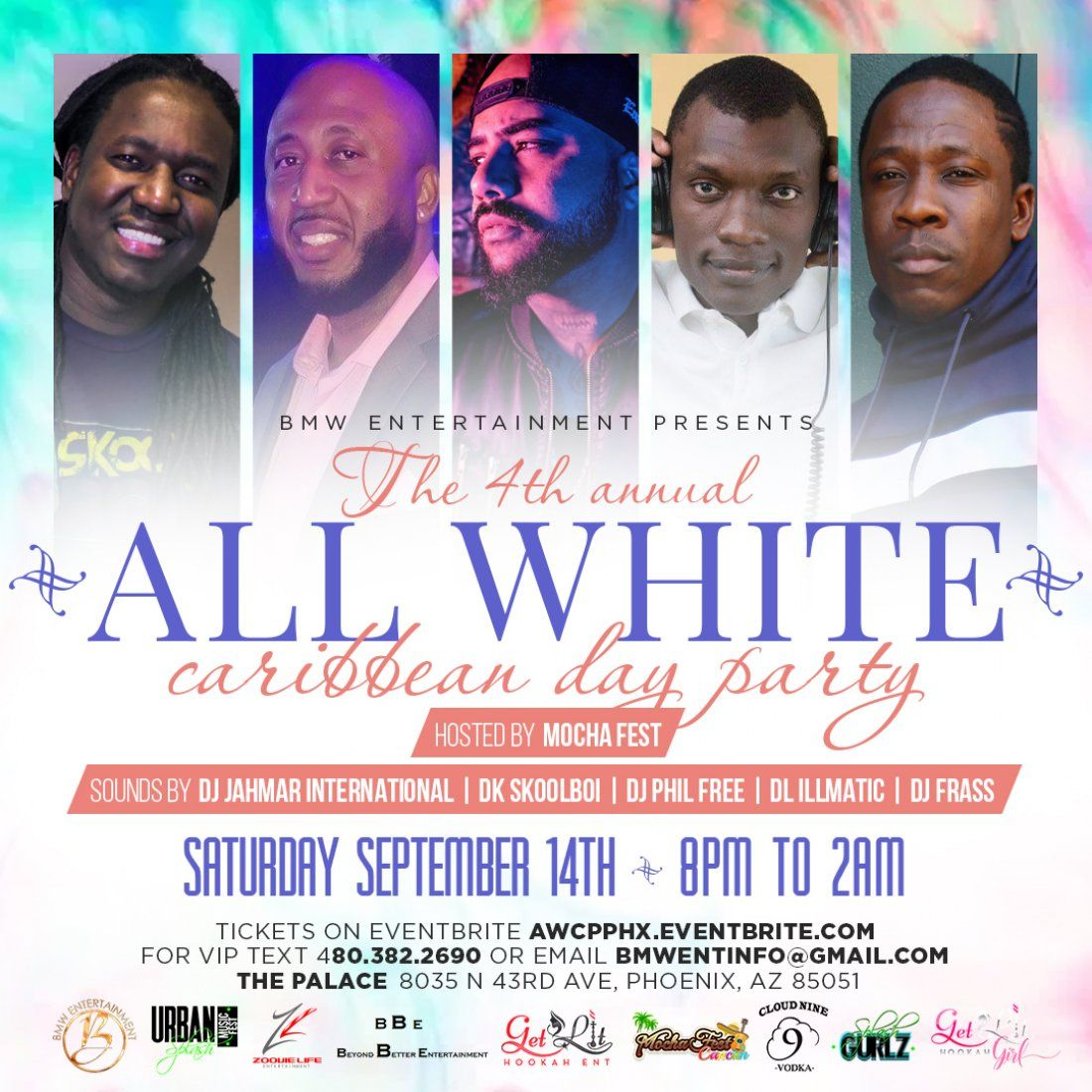 All White Caribbean Day Party Phoenix