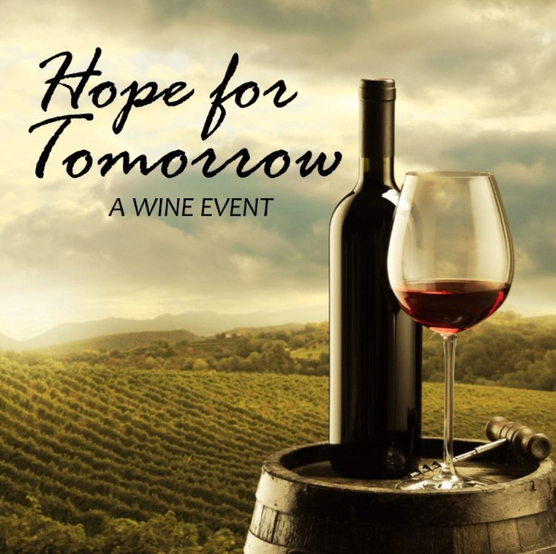 Hope for Tomorrow Wine Event at CHILL WINE BAR 12 years In
