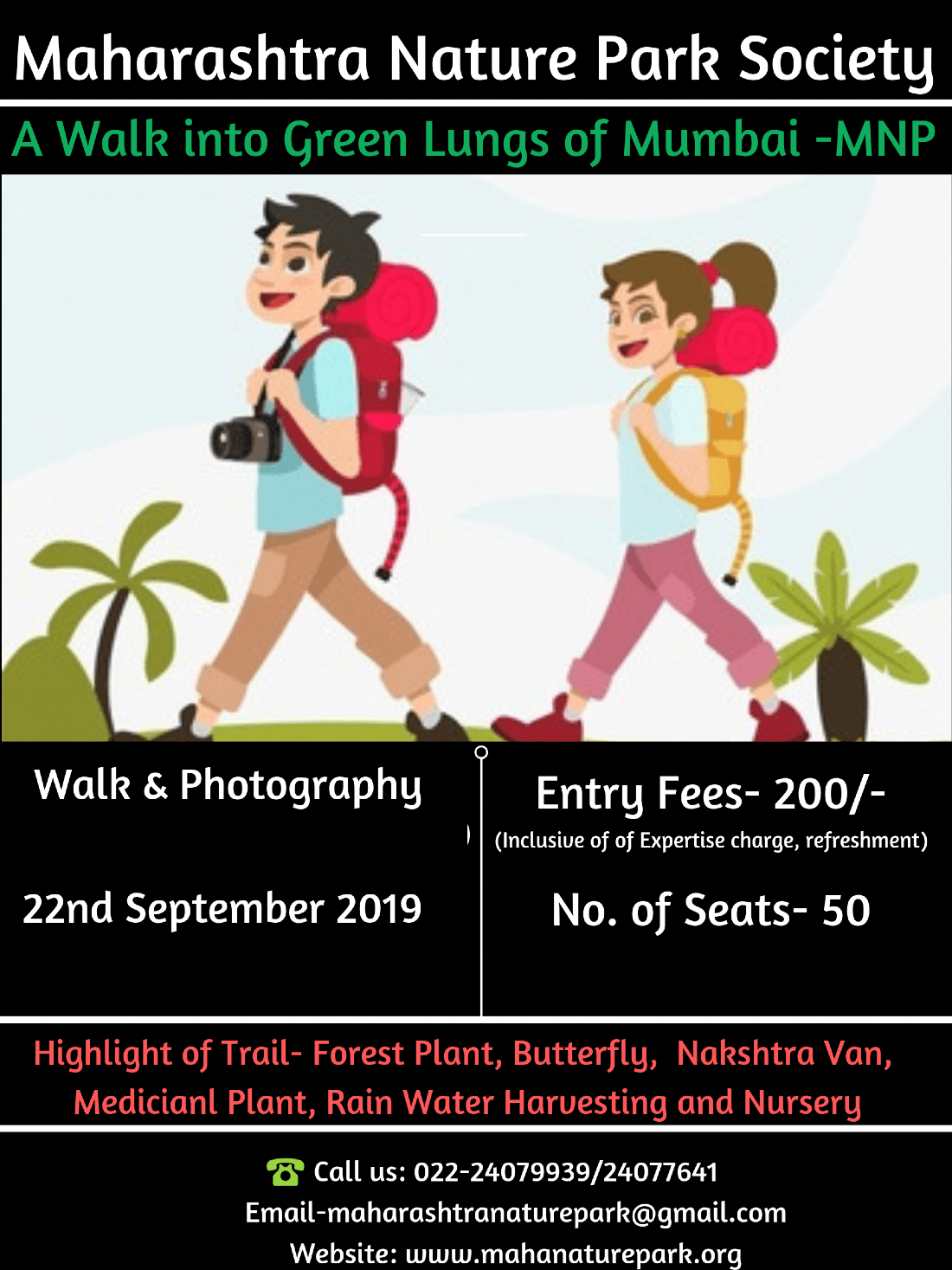 A walk to Green lungs of Mumbai-MNP