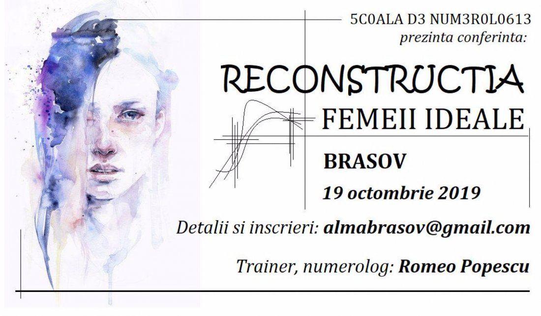 Reconstructia Femeii Ideale  conferinta Brasov