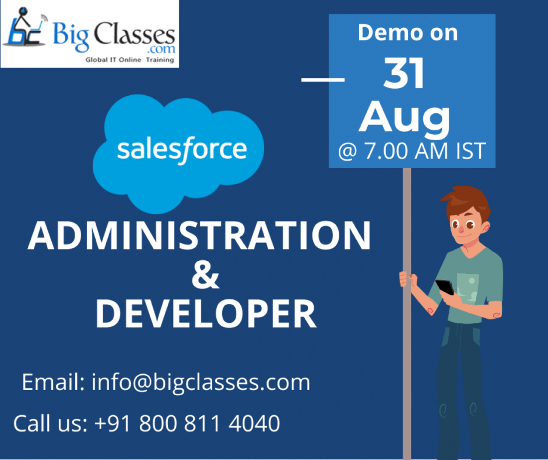 Salesforce Administration & Developer Demo on 31st Aug 2019