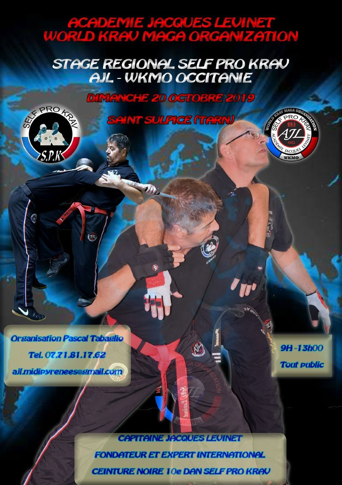 STAGE NATIONAL KRAVMAGA SPK OCCITANIE (TARN)
