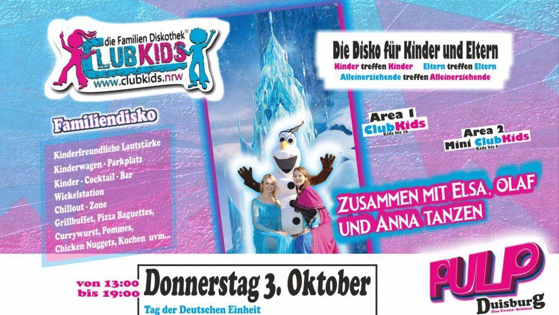 Clubkids Die Familiendisko In Duisburg At Pulp Event