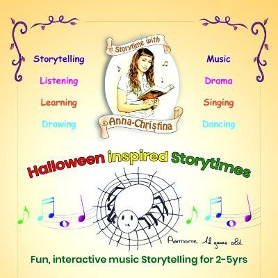 Storytime with Anna-Christina - Halloween Inspired Storytimes