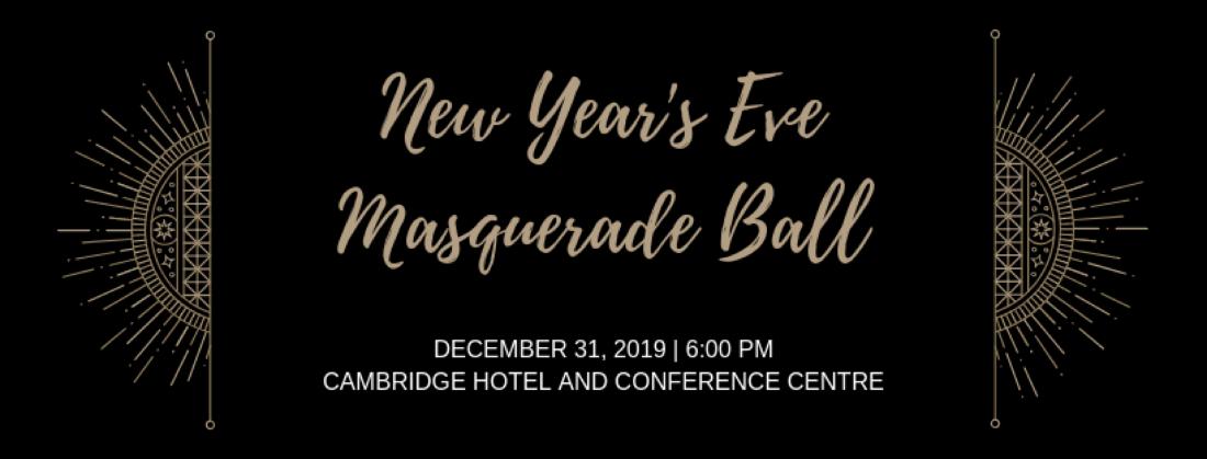 New Years Eve Masquerade Ball