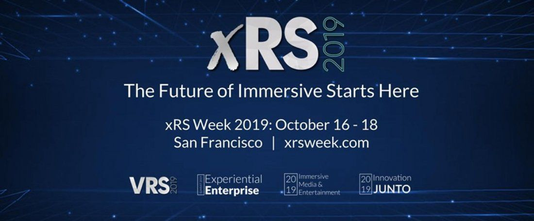 XRS WEEK 2019 Virtual & Augmented Reality Strategy