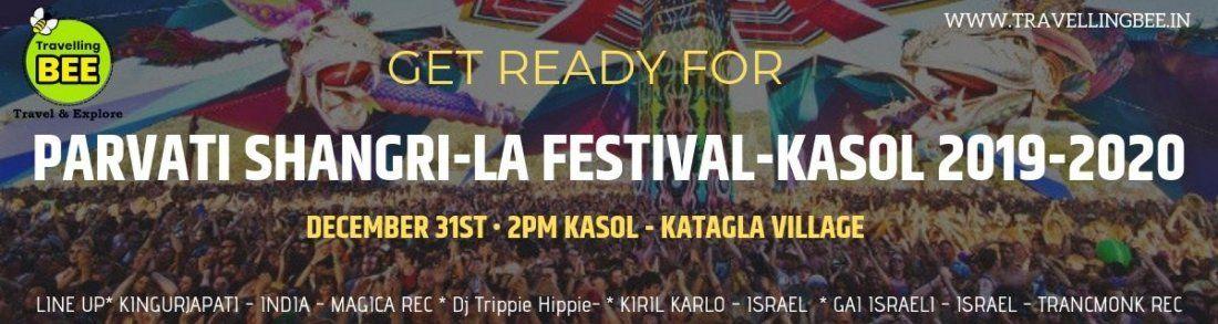 Parvati Shangri La Festival Kasol 2019-2020