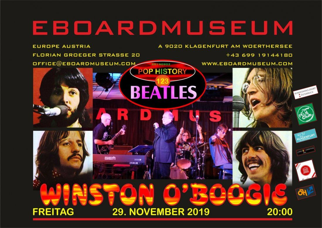 WINSTON OBOOGIE - A tribute to The Beatles