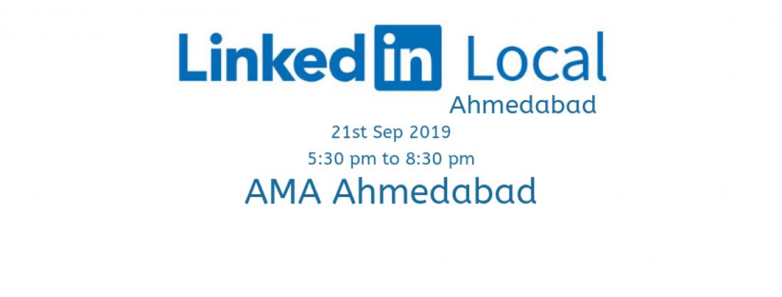 Linkedin Local Meet Ahmedabad
