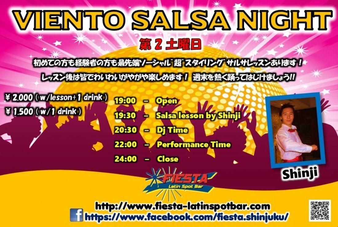 1012(Sat) VIENTO SALSA NIGHT
