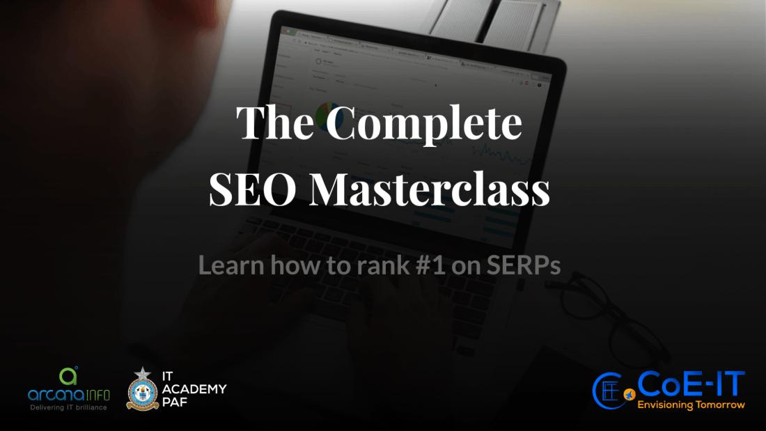 The Complete SEO Masterclass