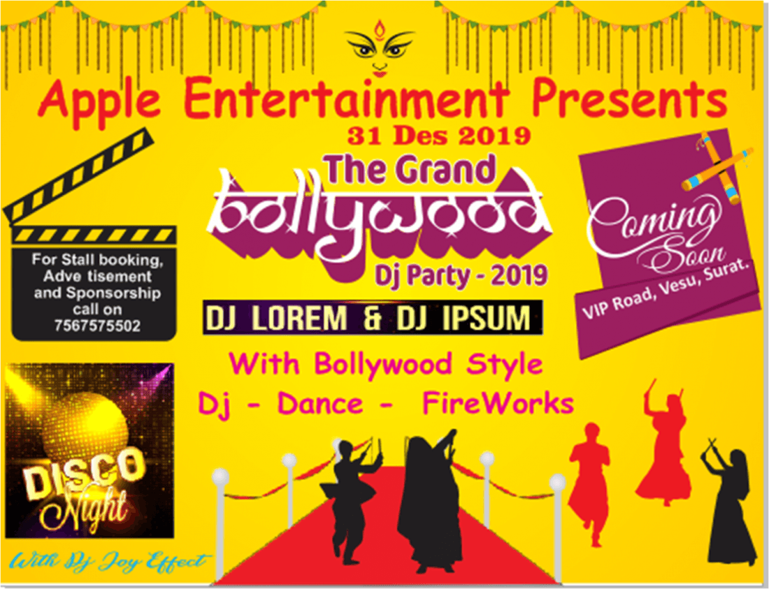 The Grand Bollywood DJ Party 2019