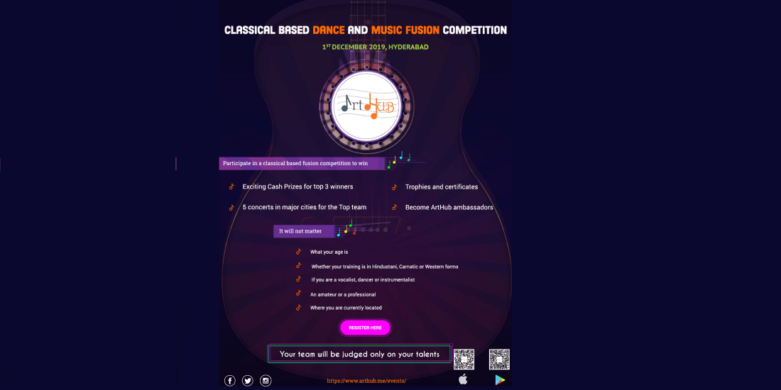 ArtHub Presents Classical Music and Dance Fusion Competition