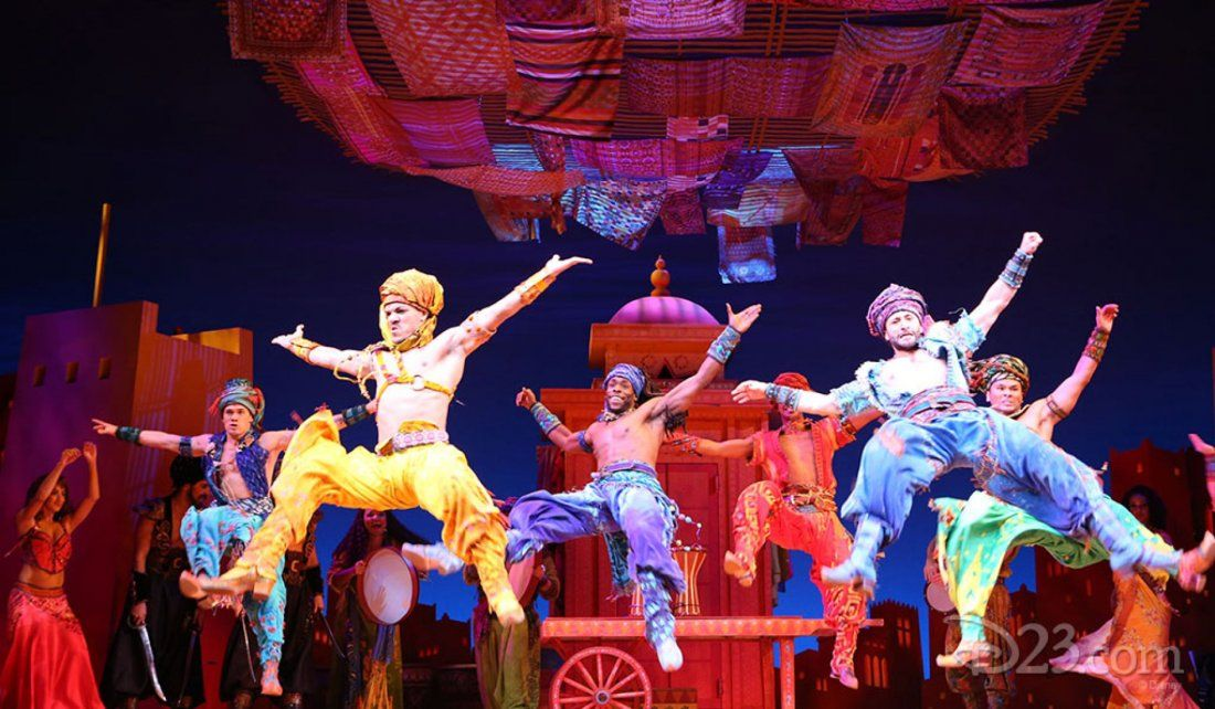 Aladdin at New Amsterdam Theatre New York NY