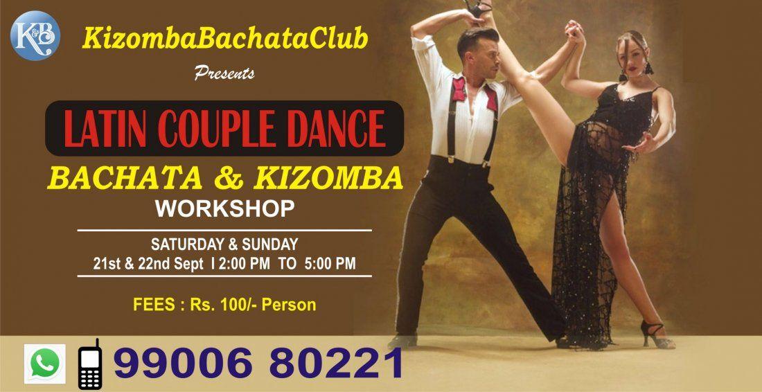 Latin Couple Dance BACHATA and KIZOMBA Workshop