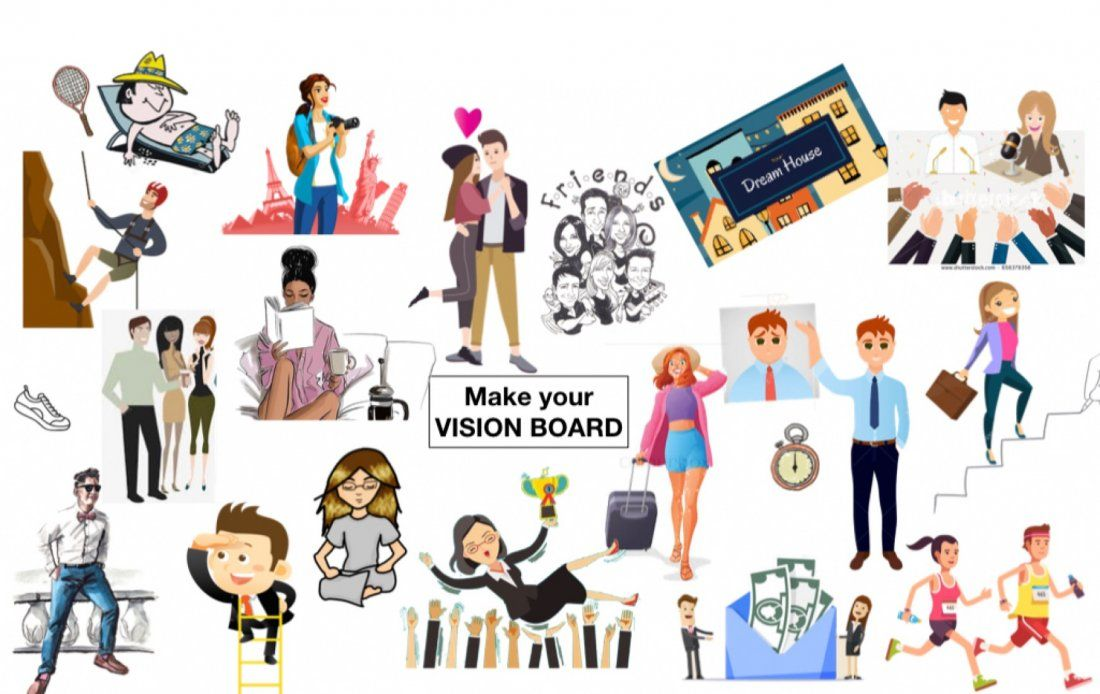 Personal Goal SettingVision Board event (everyday event)