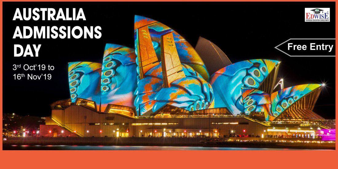 AUSTRALIA ADMISSIONS DAY IN JAIPUR
