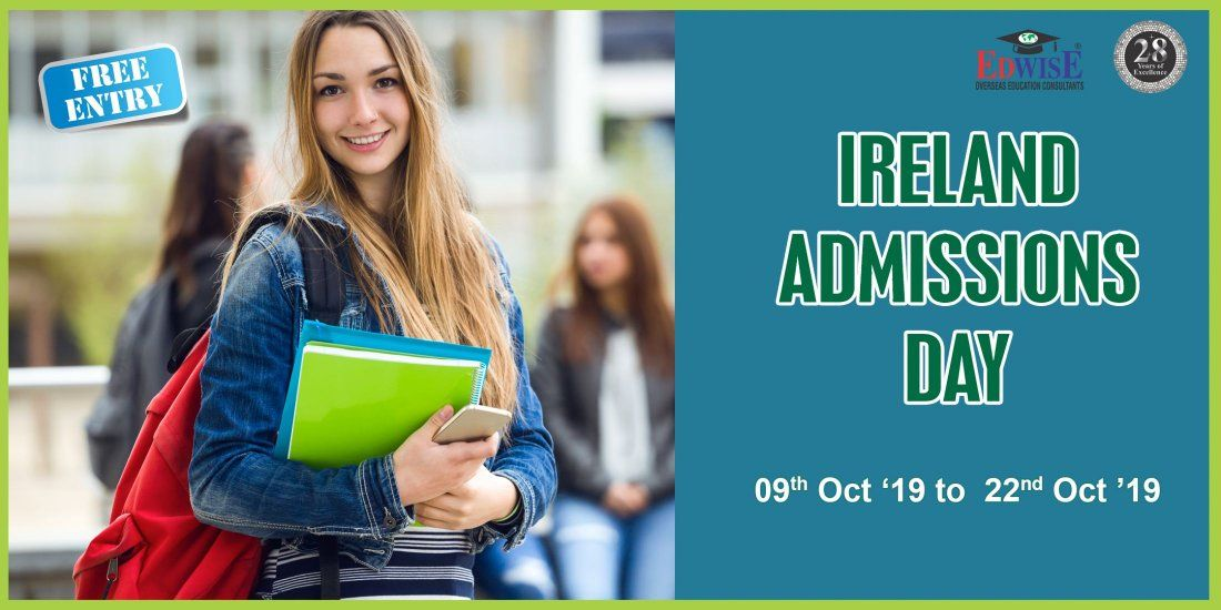 Ireland Admissions Day in Hyderabad