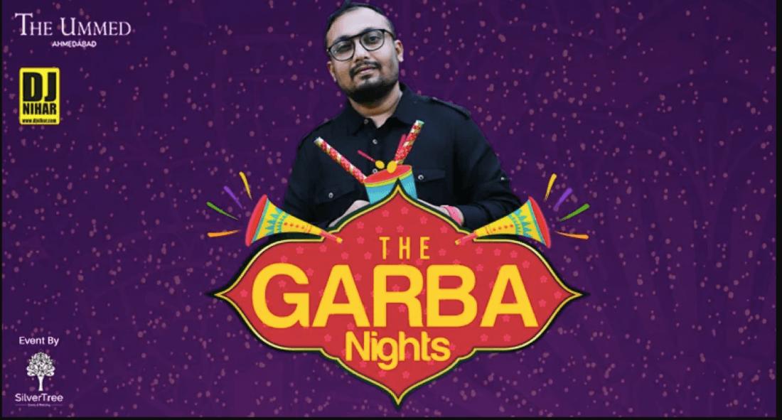 The Garba Night By Dj Nihar (29 Sep - 7 Oct)