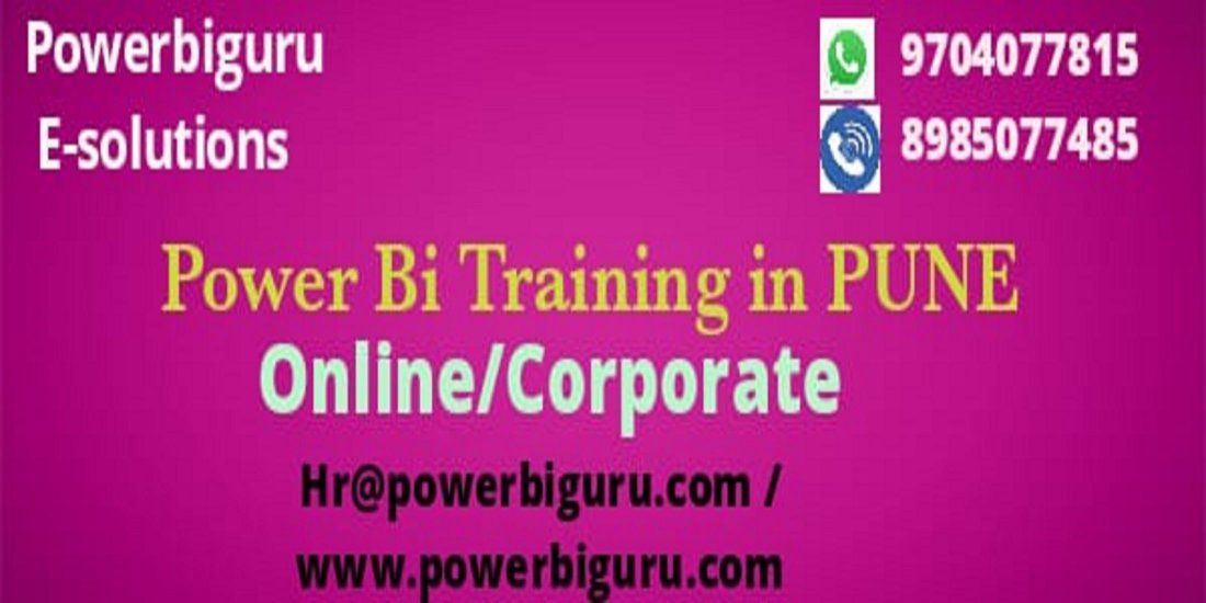 Microsoft Power bi training in PuneIndia