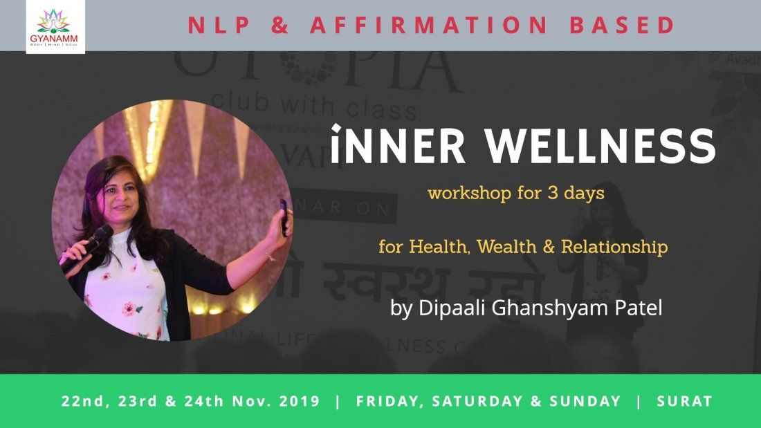 NLP & Affirmation based iNNER WELLNESS Workshop